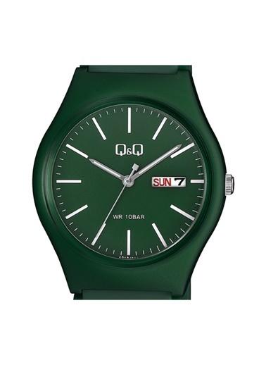 Q&Q Saat Yeşil
